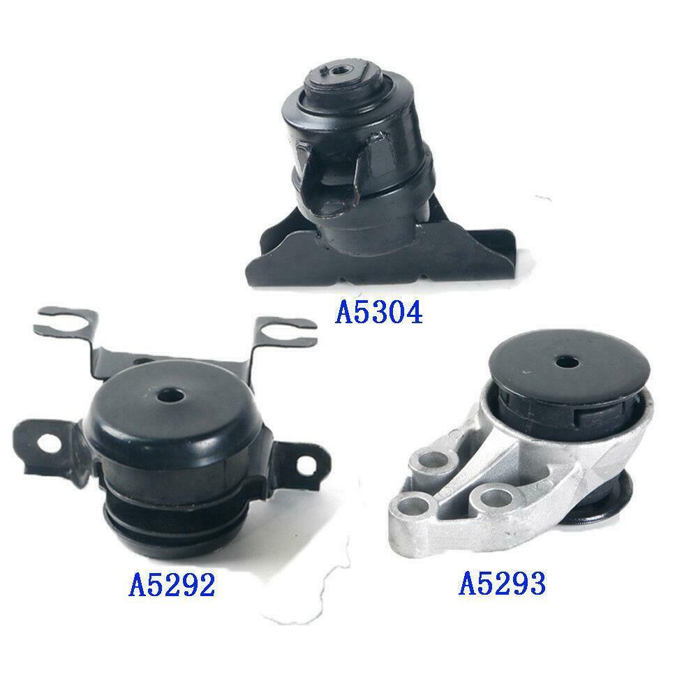 For 2001-2004 Ford Escape Trans Engine Motor Mount Set 3 A5304 A5292 A5293 NEW