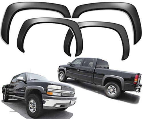 For 88-98 Chevy Suburban Tahoe GMC C/K Pickup Fender Flares OE Style Paintable