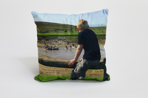 30x30cm Velvet Photo Cushion - Haddow Group
