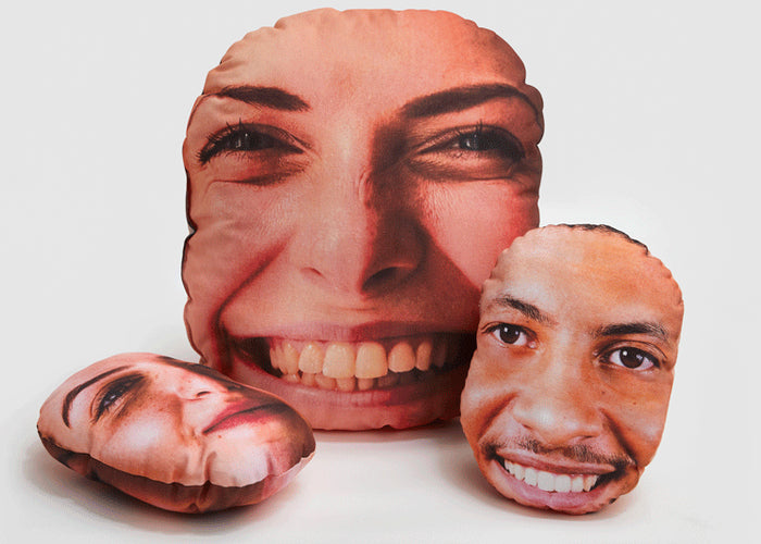 Personalised Face Cushion - Haddow Group