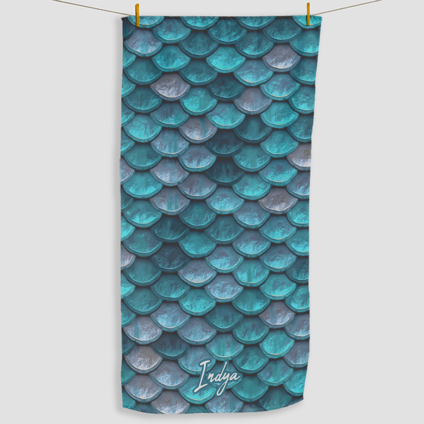 Mermaid Scale Towel - Haddow Group
