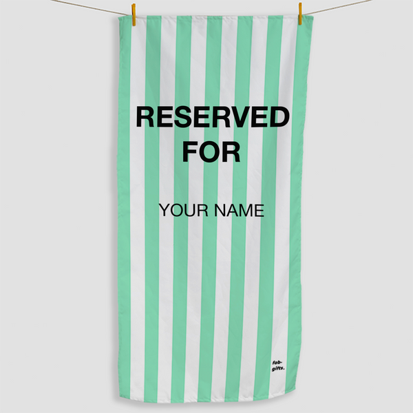 Mint Reserved Towel - Haddow Group