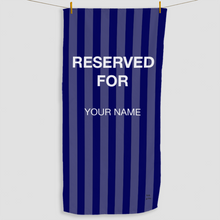 Load image into Gallery viewer, Navy Reserved Towel - Haddow Group