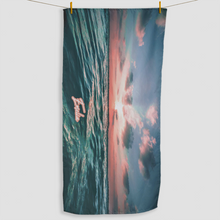 Load image into Gallery viewer, Ocean Sunset Towel - Haddow Group
