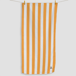 Orange Striped Towel - Haddow Group