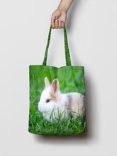 Load image into Gallery viewer, Personalised Photo Canvas Tote Bag