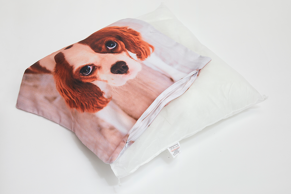 45x45 Cotton Photo Cushion - Haddow Group