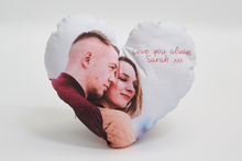 Load image into Gallery viewer, Personalised Heart Cushion - Haddow Group