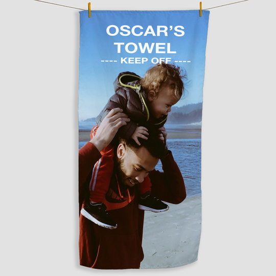 Personalised Photo Towel - Haddow Group