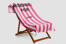 Load image into Gallery viewer, Bright Pink Reserved Towel - Haddow Group