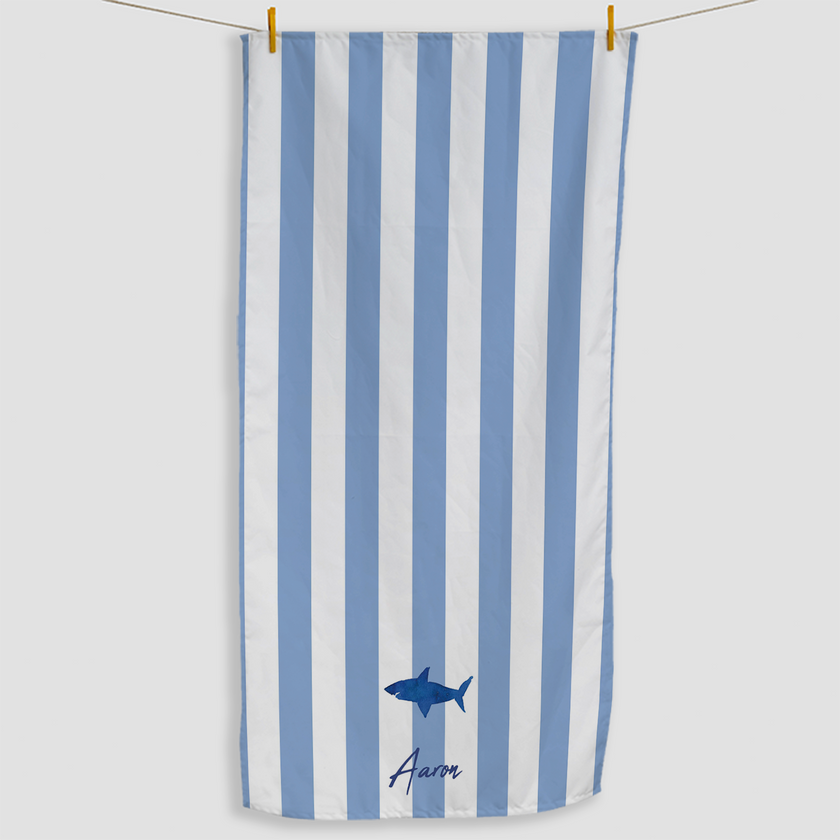 Shark Striped Towel - Haddow Group