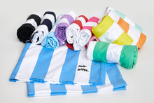 Load image into Gallery viewer, Light Blue Striped Towel - Haddow Group