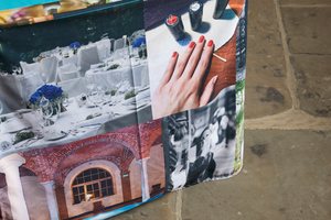 Exhibition Tablecloth - Personalised Branding - Haddow Group