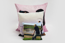 Load image into Gallery viewer, 60x60cm Velvet Photo Cushion - Haddow Group