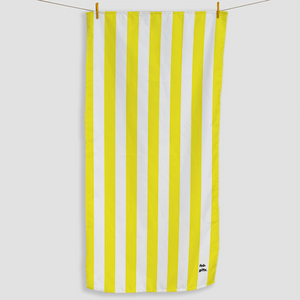 Yellow Striped Towel - Haddow Group