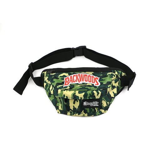 Backwoods Camo Fanny Pack (READ DESCRIPTION)