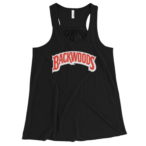 Backwoods Women's Flowy Racerback Tank