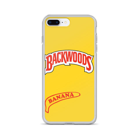 Backwoods Banana iPhone Case