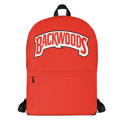 Backwoods Red Backpack