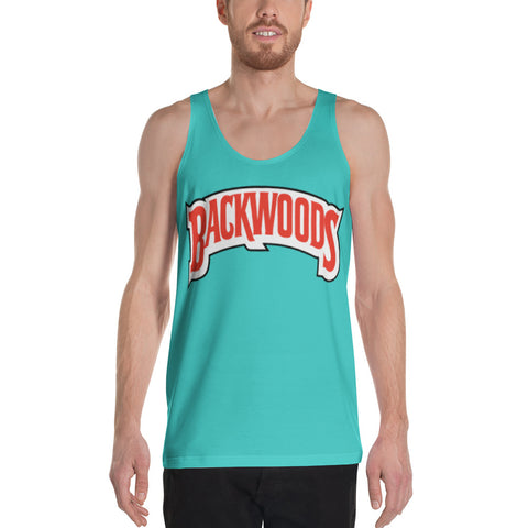 Backwoods Tiffany Blue Unisex Tank Top