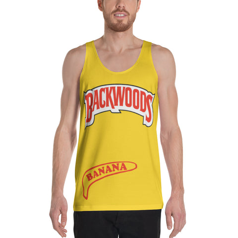 Backwoods Banana Unisex Tank Top