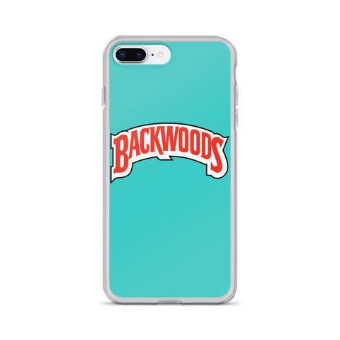 Backwoods Tiffany Blue iPhone Case
