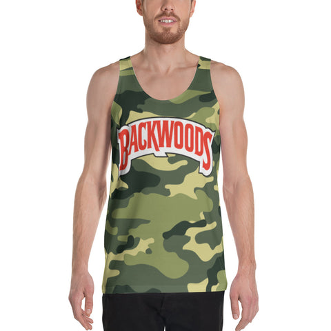 Backwoods Camo Unisex Tank Top