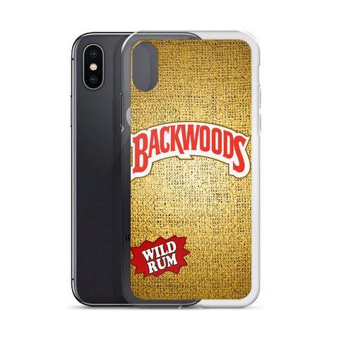 Backwoods Wild Rum iPhone Case