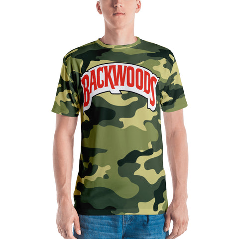 Backwoods Camo Men's T-shirt
