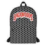 Backwoods Black & White HoneyComb Backpack