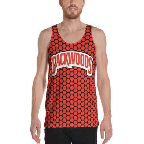 Backwoods Red Comb Unisex Tank Top