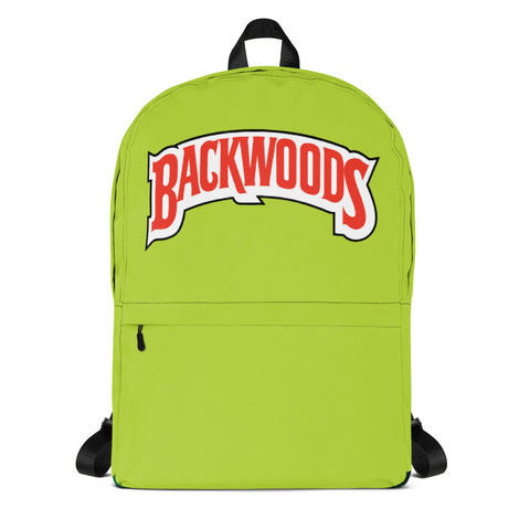 Backwoods Green Backpack