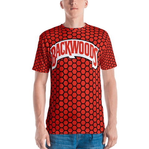 Backwoods Red Comb Men's T-Shirt