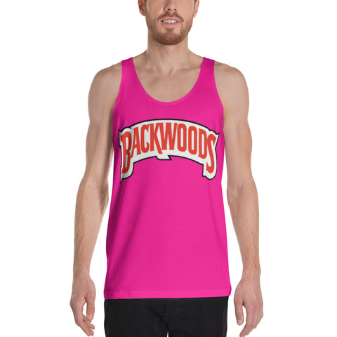 Backwoods Pink Unisex Tank Top