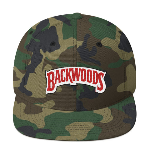 Backwoods Snapback Hat