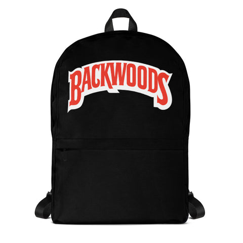 Backwoods Black Backpack