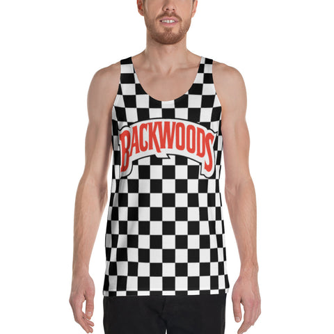 Backwoods Checkered Unisex Tank Top