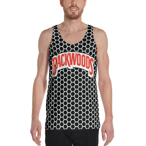 Backwoods Black & White Comb Unisex Tank Top