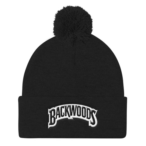 Backwoods Pom Pom Knit Cap