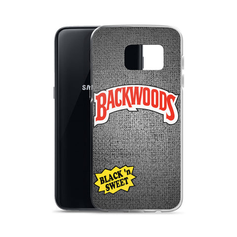 Backwoods Black 'n Sweet Samsung Case