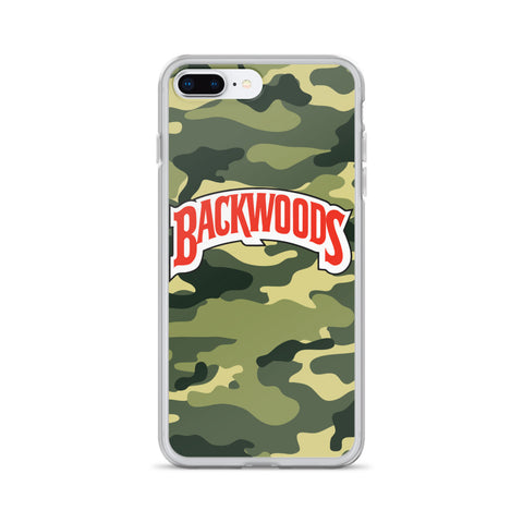 Backwoods Camo iPhone Case