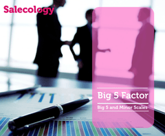 Salecology Big 5 Personality Factor