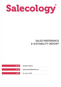 Sales Preference and Suitability Assessment