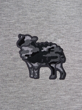Load image into Gallery viewer, Black Sheep Grey T-Shirt