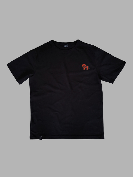 Lion Black T-Shirt
