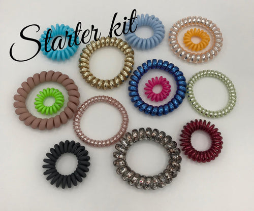 Hair Coil Starter Pack-all 4 sizes! - Posh West Boutique