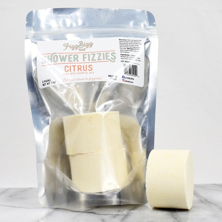 Citrus Fizzies - Shower Melts - Posh West Boutique