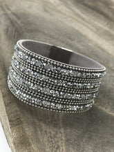Load image into Gallery viewer, Silver Bling Cuff Bracelet - Posh West Boutique