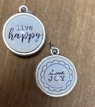 Load image into Gallery viewer, Choose Joy Double Sided Charm - Posh West Boutique
