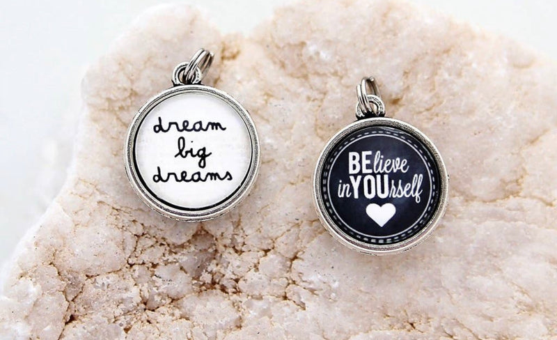 dream big dreams Double Sided Charm - Posh West Boutique